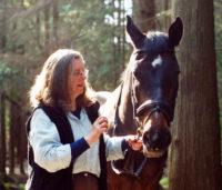 Cap Munro and horse